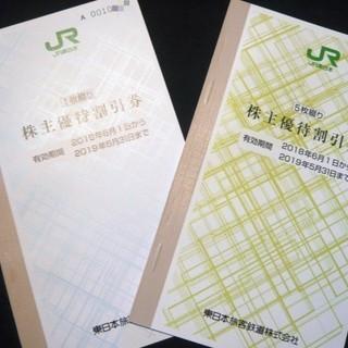 送料無料*:(整2) JR東日本 株主優待割引券 2枚