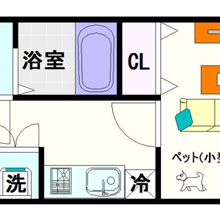 【CASSIA難波】11号タイプ!1Kタイプ!契約時費用1000円...