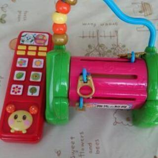 知育玩具&いないいないばぁリモコン セット