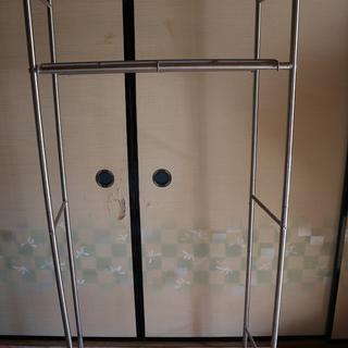 洗濯機の上に ランドリー収納 2段棚