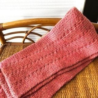 マフラー 手編み
