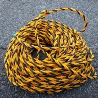 激安!駐車場用ロープ 仕切り用 約40メートル
