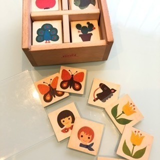 キーナー社 木製カード 60枚 スイス製