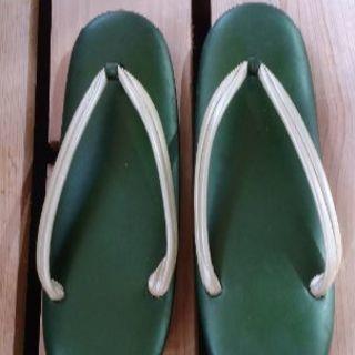 女性ぞうり(緑色)