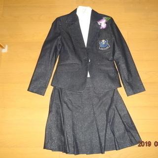 卒業式・入学式用女児スーツ(ラメ入り生地)150