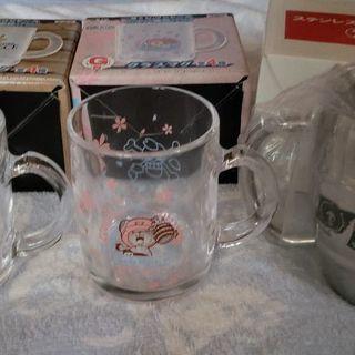 ONE PIECEグラスマグとステンレスマグカップ