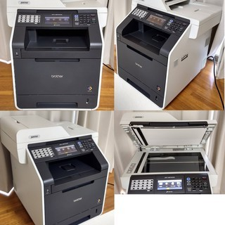 【中古】ブラザー A4カラーレーザー複合機 MFC-9970CD...