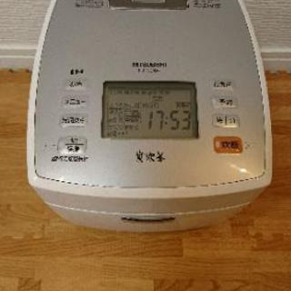 三菱 炊飯ジャー 炭炊釜 NJ-VE-108-W