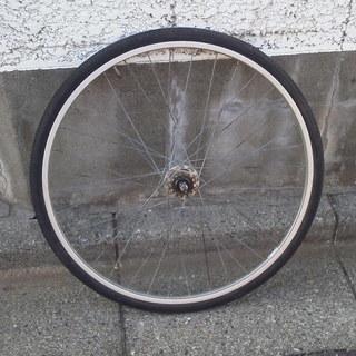 自転車ホイール 27インチ 後