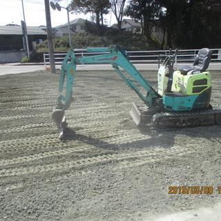 福岡、駐車場工事、防草工事、コンクリート仕様、格安