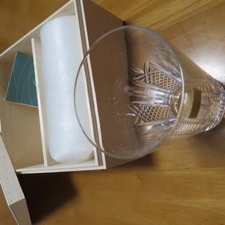 江戸切子 ペアグラス 箱付き