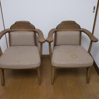 ダイニング用チェア 木製椅子2点