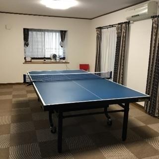 アットホームな女性専用卓球教室