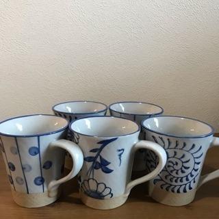 コーヒーカップ5個セット