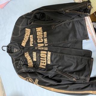 イエローコーン3シーズンジャケット 合皮部分が剥げています。