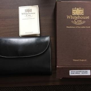 ホワイトハウスコックス 三つ折り財布(ホリデーライン)