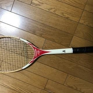 硬式テニスラケット レトロ