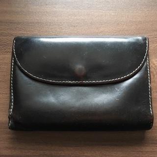 【使用感あり】ホワイトハウスコックス 三つ折り財布