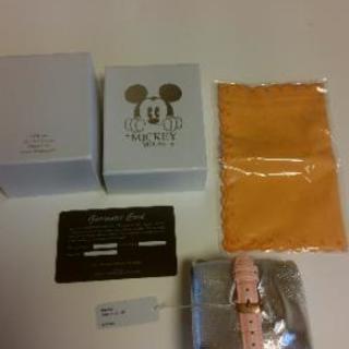 ミッキーマウス クォーツ腕時計 未使用品