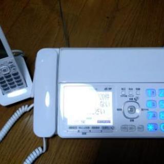 【美品】Panasonic FAX、子機セット