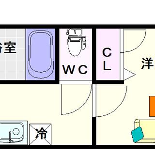 【willDo難波wⅡ】1号タイプ!1Kタイプ!安定の使いやすさ☆