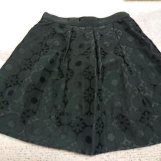 リランドチュール黒スカート