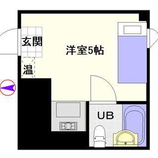 【レナジア大国町】3号タイプ!1Rタイプ!荷物置き場にも良い!?