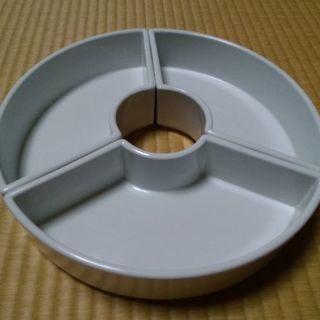 小原流 花器 扇形(白・3個セット)