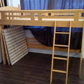 【二段ベッド】引越のため処分します。