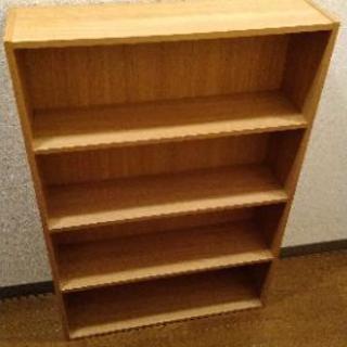 本棚(幅595×奥行き170×高さ880)