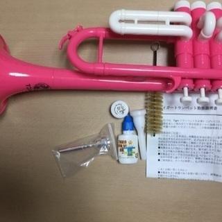 タイガー トランペット 美品ピンク