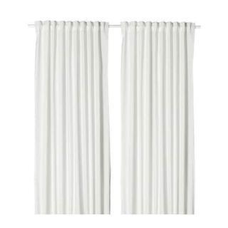 IKEAイケア MERETEメレーテ カーテン3枚 ホワイト
