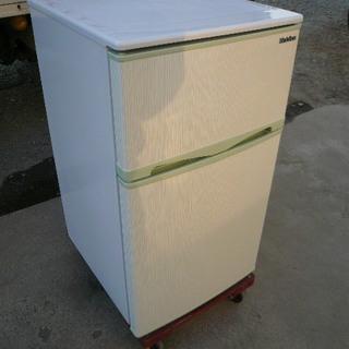 エラヴィタックス ER-107HG 2ドア冷凍冷蔵庫 96リットル