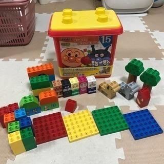 アンパンマン ブロック バケツ