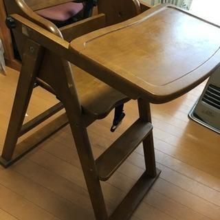 折りたたみ 子供用テーブル付き椅子