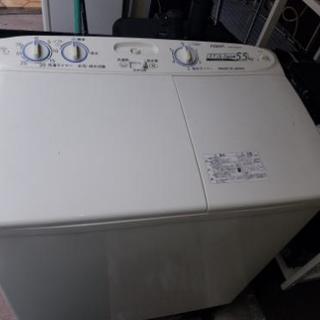 二層式洗濯機5.5kg