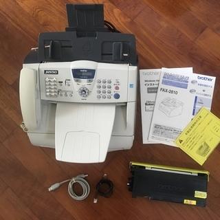 電話/FAX/コピー/プリンター モノクロレーザー複合機(半ジャンク)