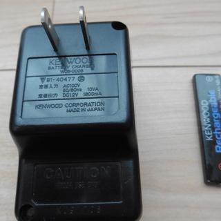 バッテリーチャージャー(カセットウォークマン充電器)