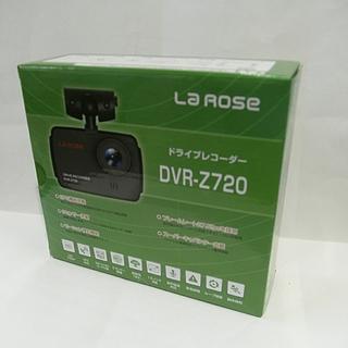 札幌 未使用! ドライブレコーダー DVR-Z720 GPS搭載 プロリンクジャパン La Rose の画像