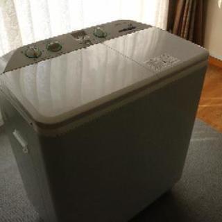 週末限定値下げ!!二槽式洗濯機