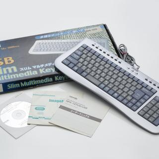 小振りのキーボード W376×D147