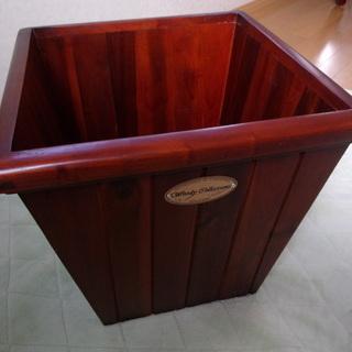 鉢カバー(木製)