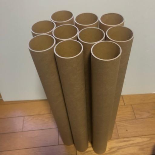 紙製の丈夫な筒10本 (シマゾウ) 今里のその他の中古あげます・譲ります ...