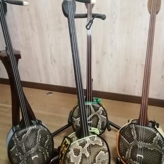 都立大での沖縄三線の練習会