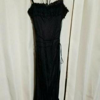 フォーマルロングドレス   黒  Mサイズ