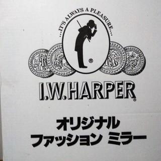 新品!I.W.ハーパー のロゴ付き壁掛けミラー 姿見 未使用