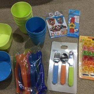プラスチック食器、カトラリーなど。美品!今週末まで限定