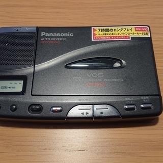 【Panasonic】カセットレコーダーの画像
