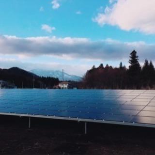 太陽光低圧 電気工事士 杭 架台 パネル