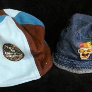 ベビー 帽子 2つ